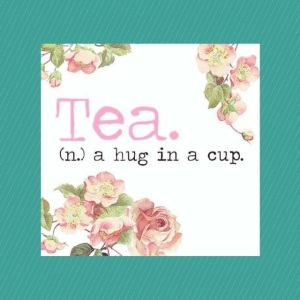 A hug in a cup.