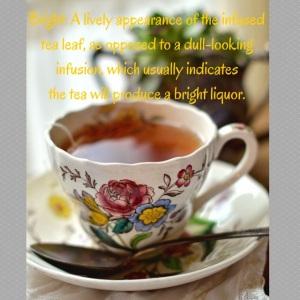 Bloom of tea leaves
