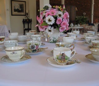 special tea cup and saucer